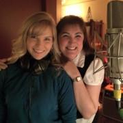Tricia recording studio for CD